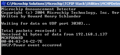 MCHPdetect