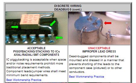 nasa workmanship standards dangerous prototypes rh dangerousprototypes com Workmanship Standards LOL Workmanship Standards LOL