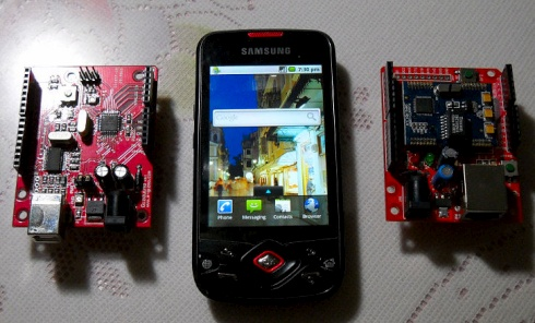 Android phone controls Arduino over wifi « Dangerous Prototypes