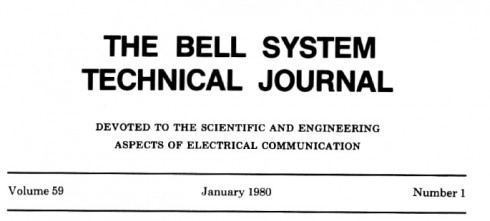 Bell System Technical Journal online | Dangerous Prototypes