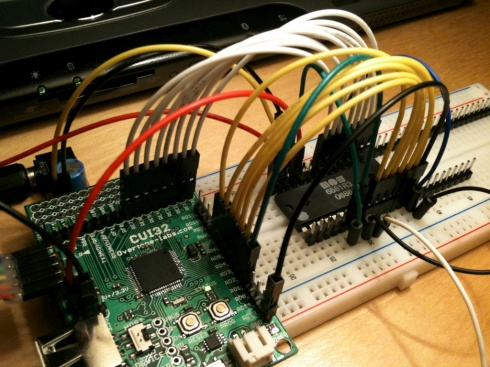 PIC32 drives SID audio chip – Dangerous Prototypes