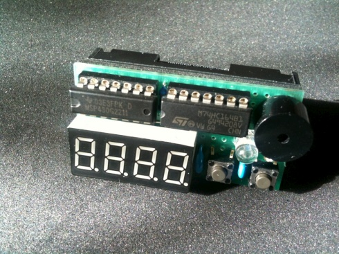 MSP430 bedside table alarm clock – Dangerous Prototypes