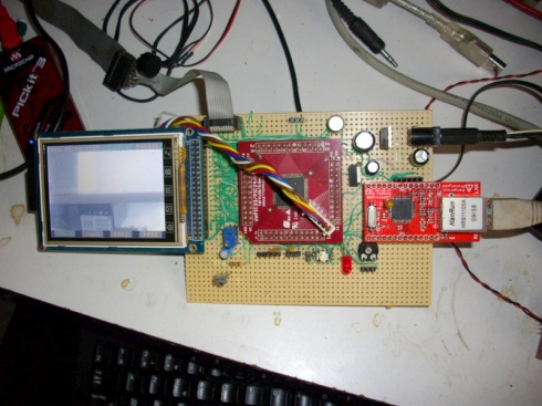 ENC424J600 breakout board tested « Dangerous Prototypes