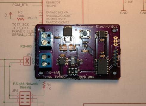 Networked Temperature Sensor