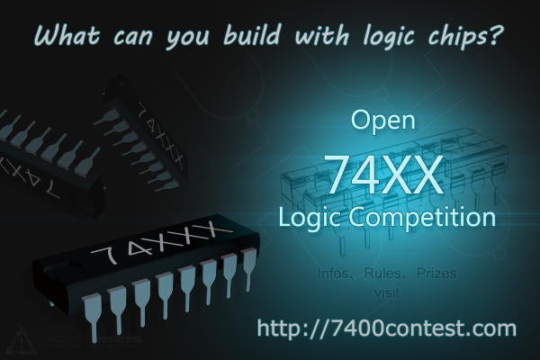 Open 7400 Logic Contest Banner