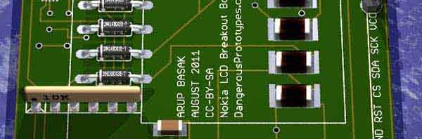 Nokia LCD breakout board version 1