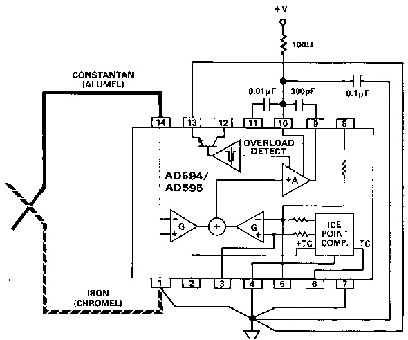 app note  thermocouples  and design guidelines for ad59x tc amplifiers  u00ab dangerous prototypes