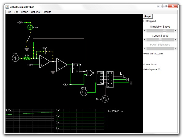java circuit simulator dangerous prototypesit\u0027s an interactive electronics circuit simulator it has some pretty cool features, like having the direction of the current animated on the