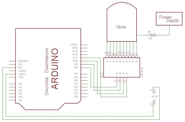driving nixie tubes dangerous prototypesin the second article about his nixie tube clock luca shows how to drive nixie tubes with a microcontroller the first article covered the power supply,