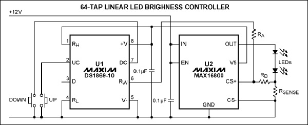 app note  control led brightness with buttons   u00ab dangerous