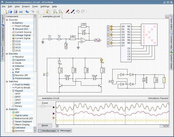 KTechlab IDE: Open source software for microcontroller simulation ...