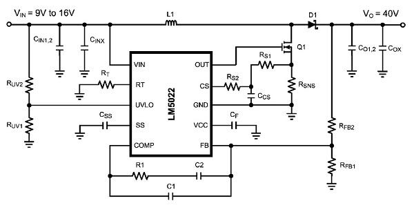 app note  lm5022 dc  dc boost controller  u00ab dangerous prototypes