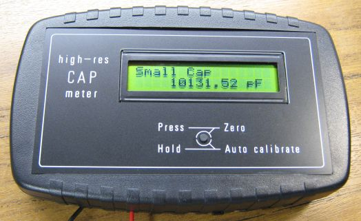 capacitance meter project A pretty good lc meter based on the in this meter the basis of this project is several similar projects on the world wide • capacitance from 1 pf to 1 uf.