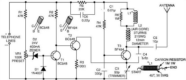 Cell phone jammer circuit diagram | Want to extend wifi network but have issues