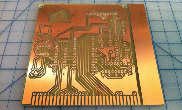 pcb ecthing at home using photo transfer method dangerous prototypes