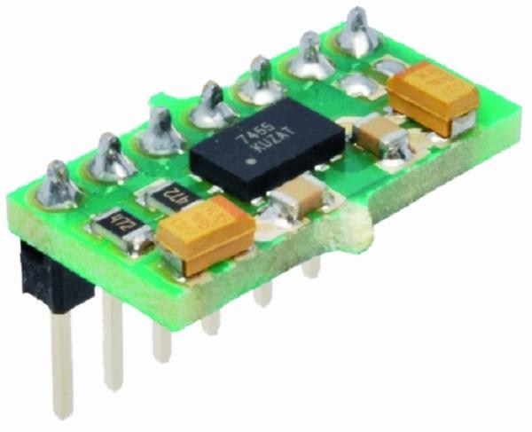 DIY MMA7455L 3-axis accelerometer breakout « Dangerous Prototypes