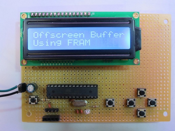 Serial port monitor with 2 20 lcd and 4k text buffer - Serial port monitor ...