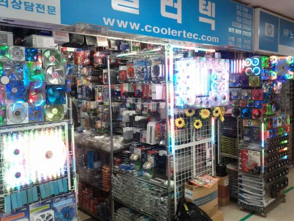Global Geek Tour: Yongsan computer parts stores in Seonin Plaza
