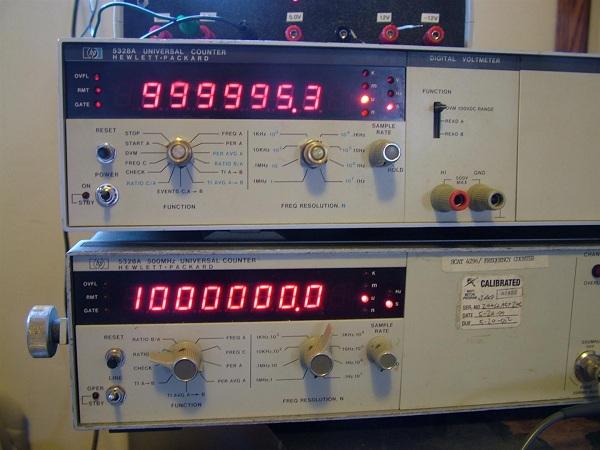 Hp Frequency Counter : Hp a universal frequency counter teardown « dangerous