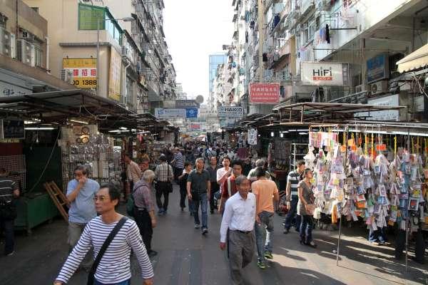 Global Geek Tour Apliu Street Electronics Market In Hong