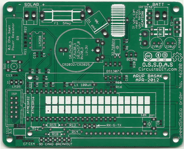 Open source solar data acquisition system PCBs « Dangerous Prototypes