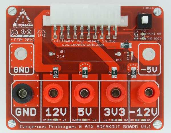NEW PROTOTYPE: ATX Breakout Board « Dangerous Prototypes