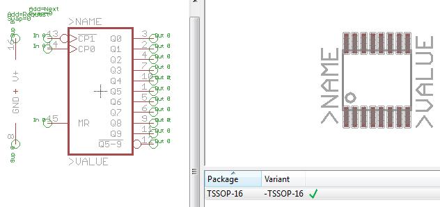 Eagle parts: Assorted 74xxx logic ICs in TSSOP packages « Dangerous