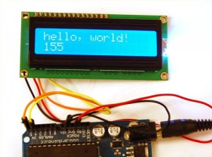 Lean, efficient I2C LCD Arduino library – Dangerous Prototypes