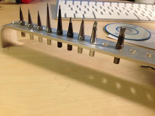 soldering iron tip holder dangerous prototypes. Black Bedroom Furniture Sets. Home Design Ideas