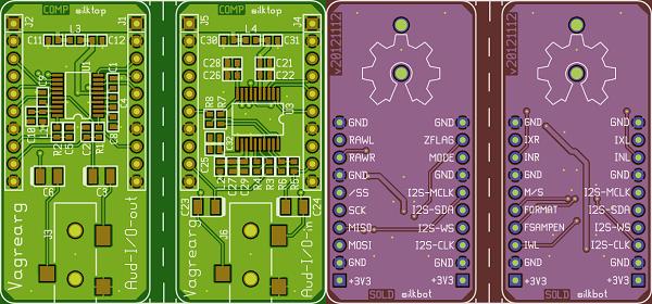 Aud-I/O I2S audio breakout « Dangerous Prototypes