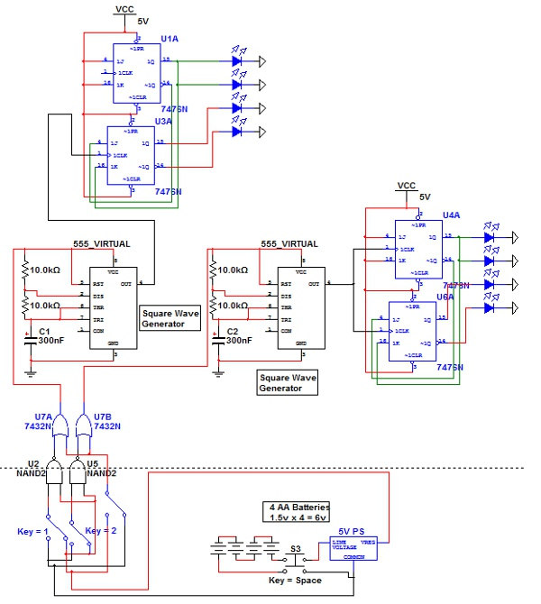 7400 nand gate diagram 7400 get free image about wiring for Circuit nand