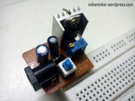 micro adjustable breadboard power supply dangerous prototypes rh dangerousprototypes com