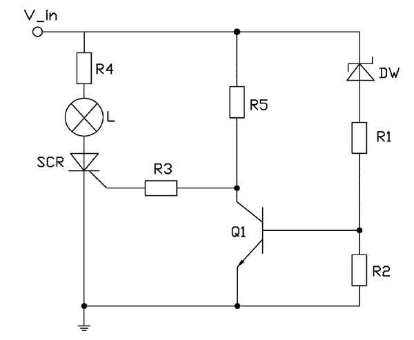 Hobby Electronics Circuits: Simple electronic fuse. - Electronic ...