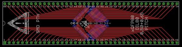 xQFP80_0.50+0.65_DIP80