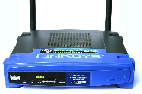 WRT54G_Linksys_Router_JTAG_Launchpad