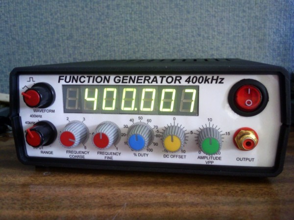 400kHz function generator with ICL8038 – Dangerous Prototypes