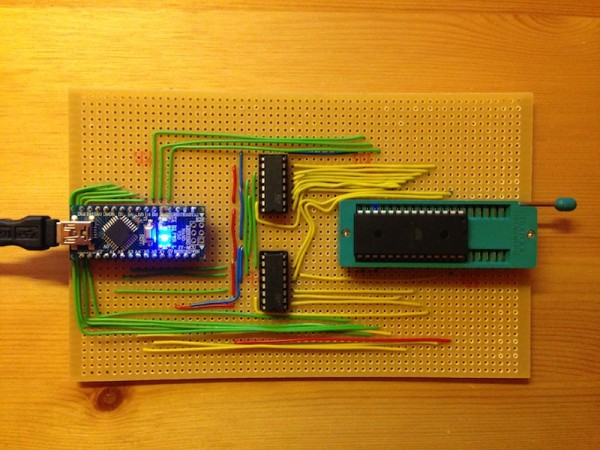 Build your own EEPROM programmer with an Arduino | Fuzzy Hypothesis ...