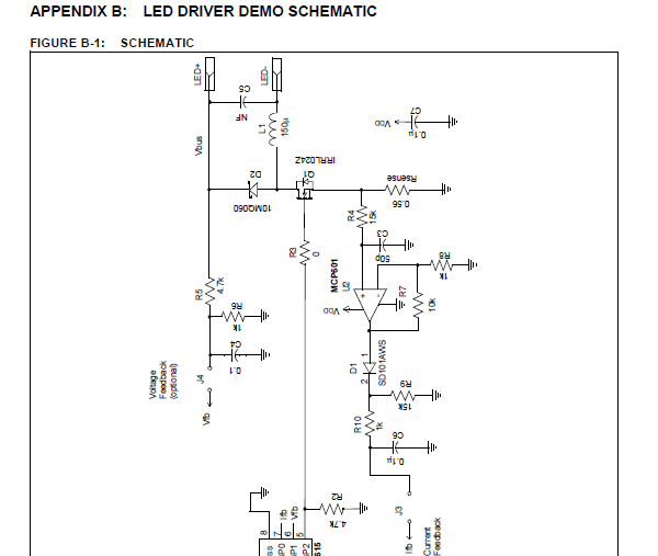 app note  digital constant current power led driver  u00ab dangerous prototypes