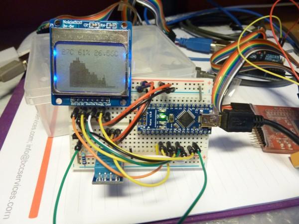 Monitoring room temperature using Arduino