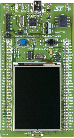 New STM32F4 discovery board features TFT LCD « Dangerous Prototypes