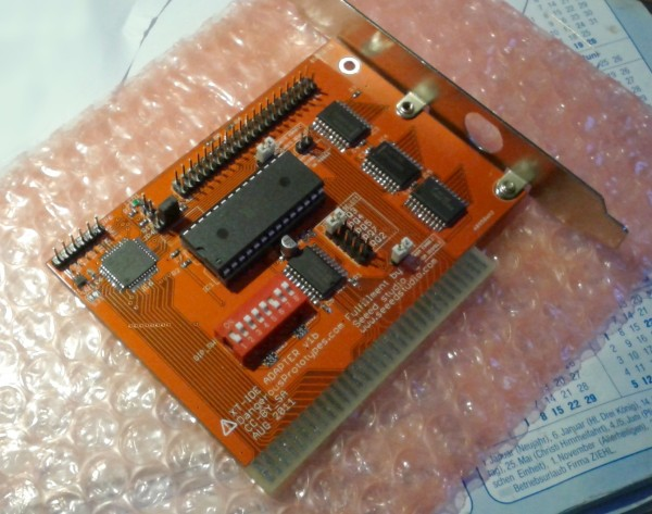 XT-IDE Adapter free PCB build