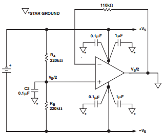 biasing_op_amp_single_supply