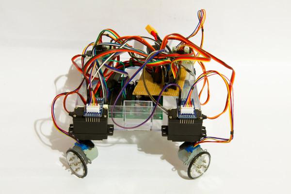 Arduino 28byj 48 Stepperbot Dangerous Prototypes