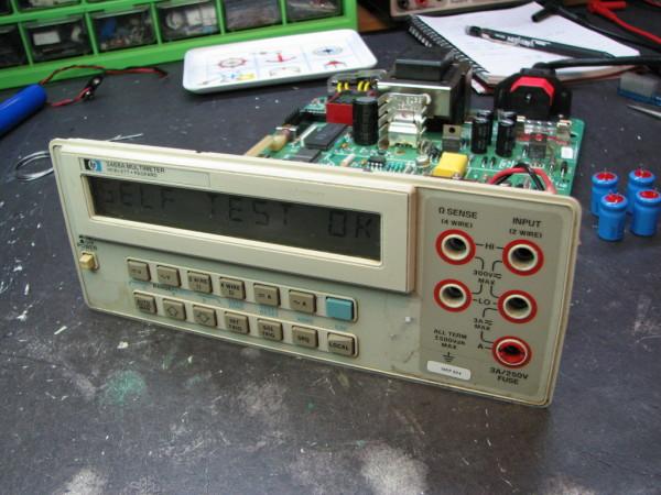 Hp 3468a Bench Multimeter Repair Dangerous Prototypes
