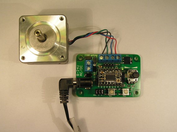 Easy Stepper Motor Controller Dangerous Prototypes