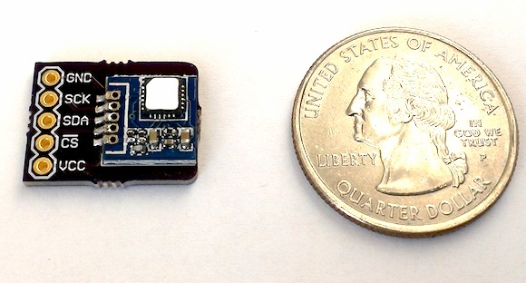 Breakout module for Si7005 temperature and humidity sensor