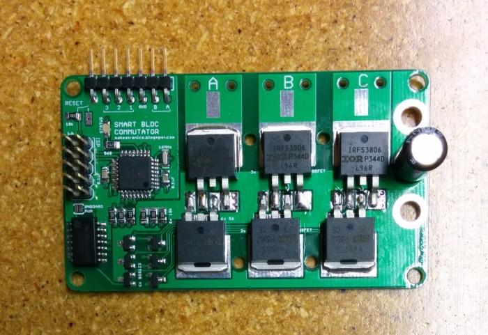 Bldc Motor Control Using Atmega328 Dangerous Prototypes