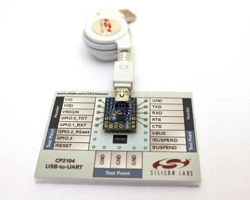USB-to-UART mini evaluation kit