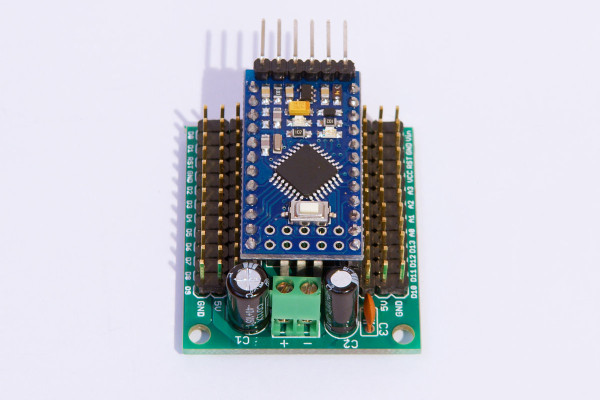 Arduino pro mini undershield « dangerous prototypes
