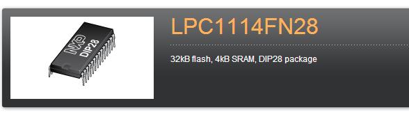 NXP-LPC1114FN28